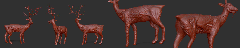 Daily Doodle Deer by chaitanyak