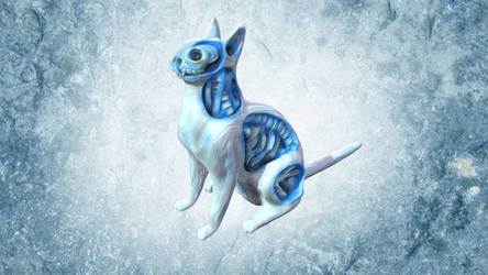 White Walker Cat by chaitanyak