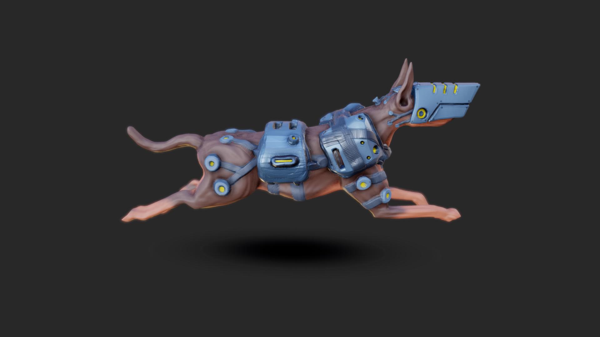 Mech Dog by chaitanyak
