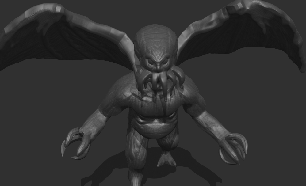 Sculptjanuary18 Jan 19 LOVECRAFTIAN by chaitanyak