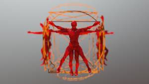 Vitruvian Matrix by chaitanyak