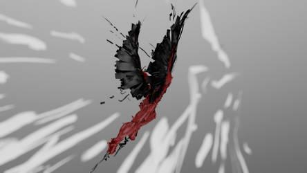 Winged Humanoid 2 by chaitanyak
