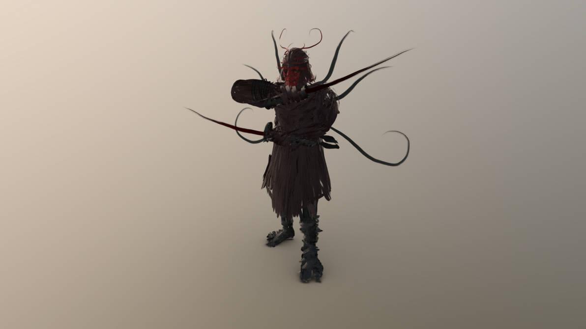 Ghost Samurai by chaitanyak