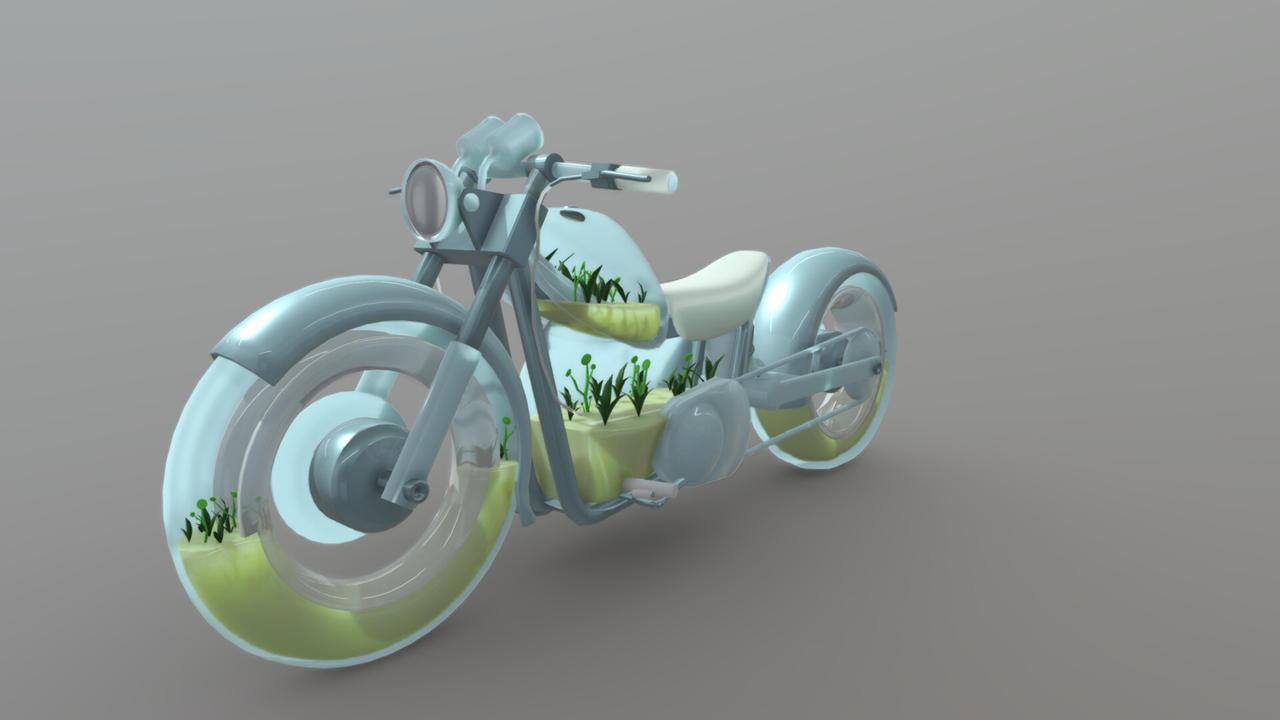 Motorcycle Hydroponics
