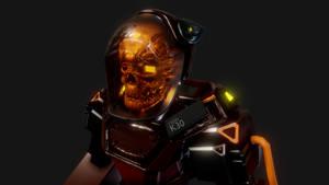 Skull Face Mech