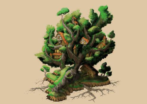 Antler Tree Colony