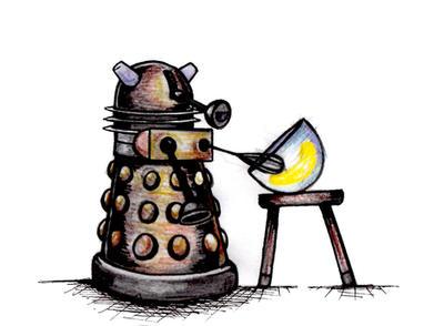 Dalek doodle by Nesasta