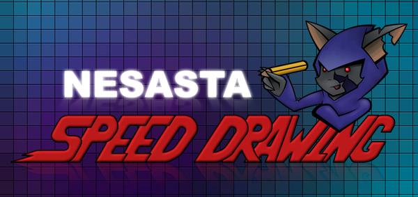Speed Drawing Logo by Nesasta