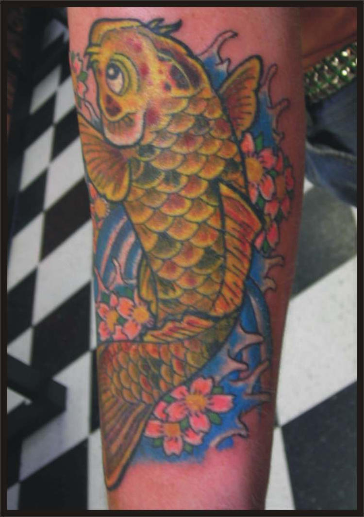 koi tattoo by zombiebe10u on deviantart. Black Bedroom Furniture Sets. Home Design Ideas