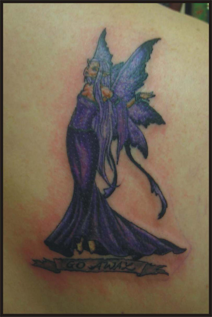 amy brown fairy tattoo by zombiebe10u on deviantart. Black Bedroom Furniture Sets. Home Design Ideas