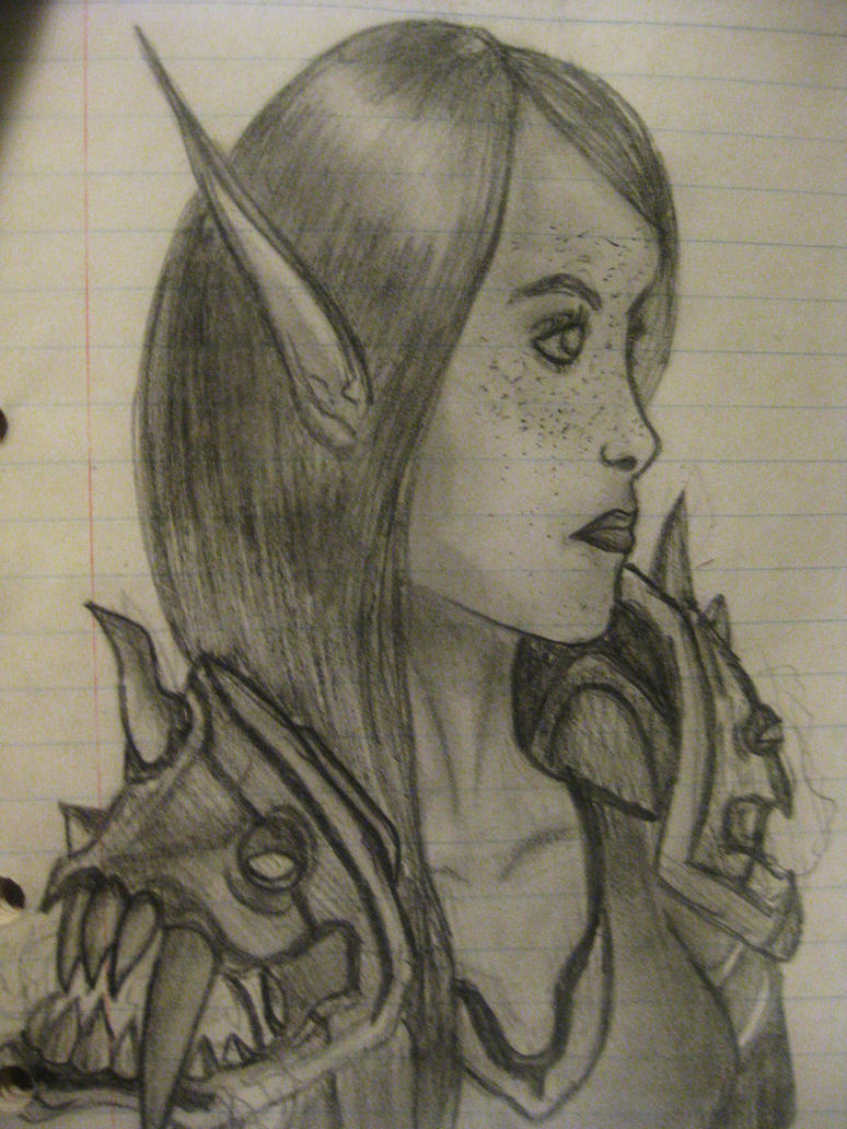 Sketch: Corriana by Jinnxx