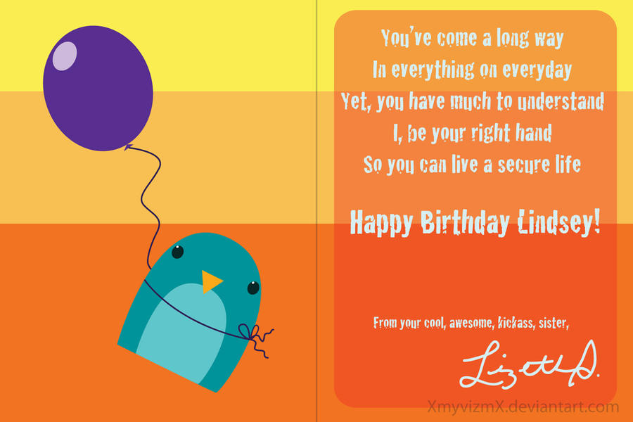 penguin birthday card ii by xmyvizmx on deviantart, Birthday card