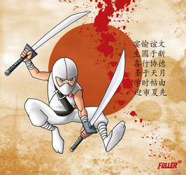 G.I. Joe LiL STORM SHADOW by Chadfuller
