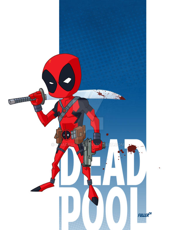 LiL DEADPOOL by Chadfuller