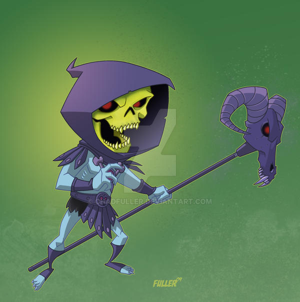 LiL Skeletor by Chadfuller
