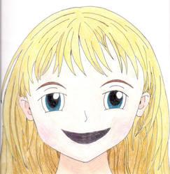 Little Manga Girl by Weather-Angel-Adept