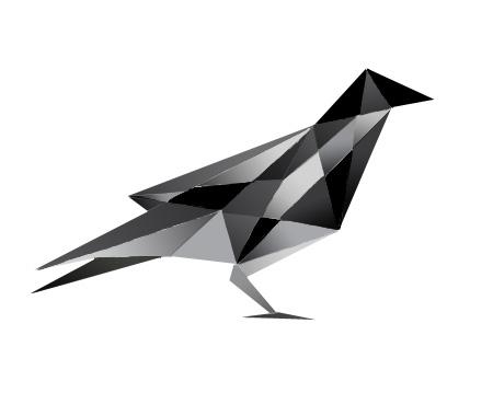 Cubism Raven by Raccoonfangz