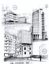 Modern buildings by AlinaGeorgia7