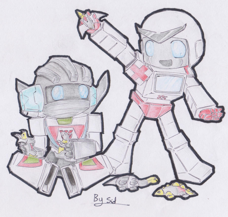 Ratchet and Wheeljack Playing by Sidian07 on deviantARTTransformers Prime Perceptor