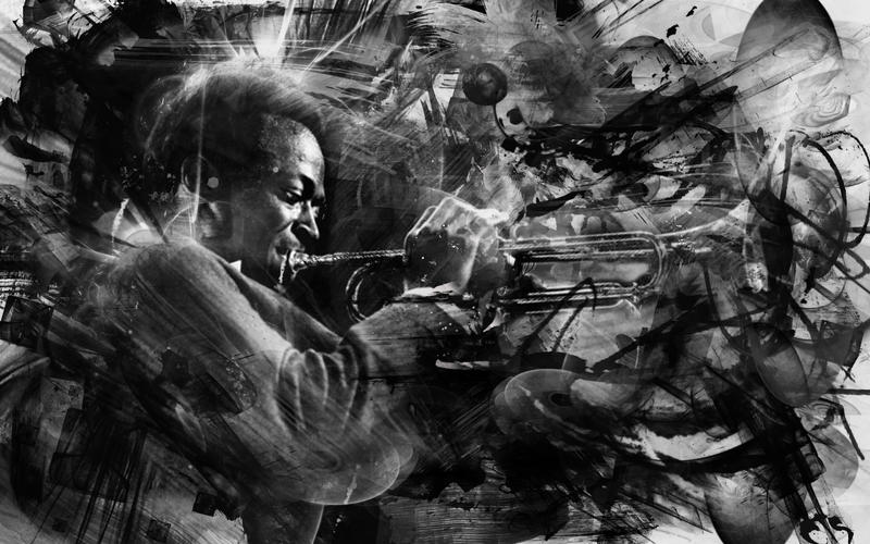 Miles Abstract Wallpaper ONE By Captain BlackHeart