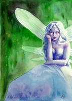 absinthe fairy by Ithilloth