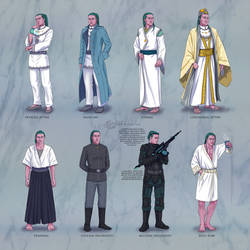 emperor's (old) clothes / Inaumeleth ref sheet by Ithilloth