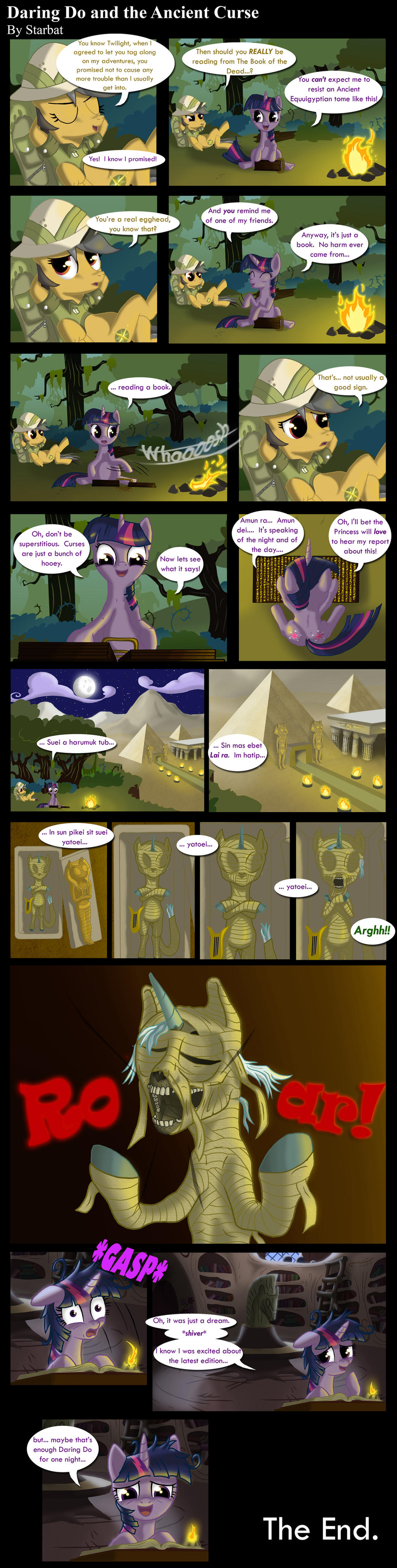 Daring Do and the Ancient Curse