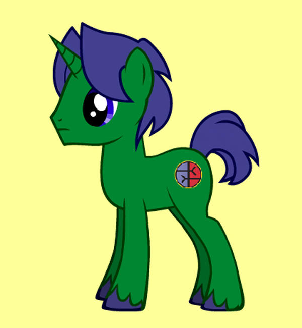 My Pony OC, Equity by Starbat