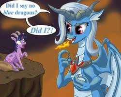 No Purple Dragons by Starbat