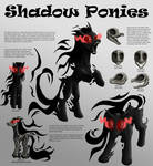 Shadow Ponies Character Sheet
