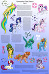 G1 Ponies Character Sheet, Page Three
