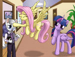 Fluttershy Meets Dr Wolf