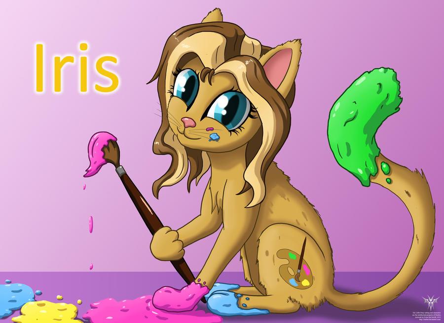 Iris COMMISSION by Starbat