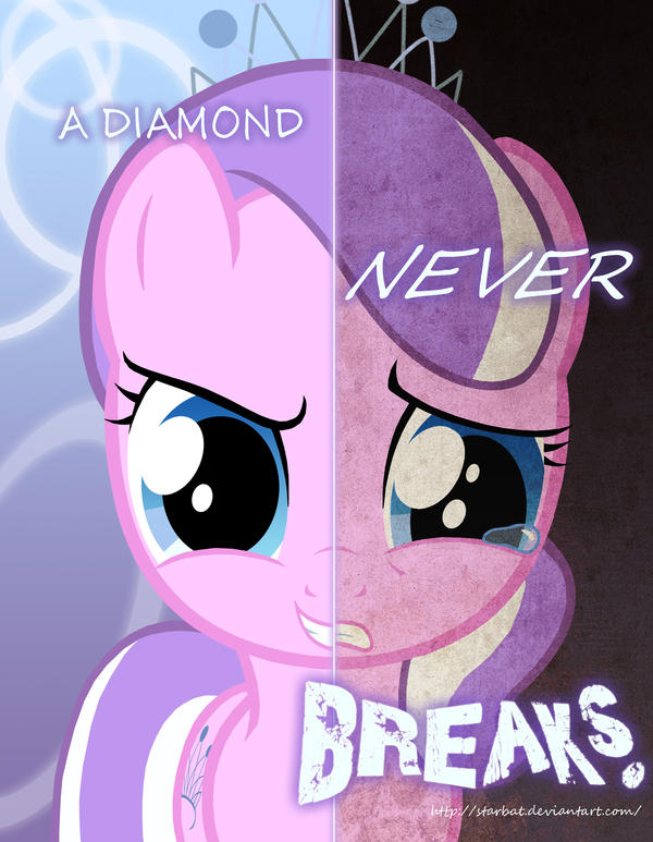 OLD VERSION of MLP - Two Sides of Diamond Tiara by Starbat