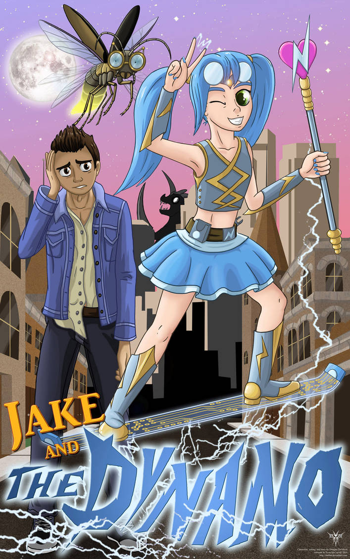 Jake and the Dynamo Cover Art, COMMISSION by Starbat