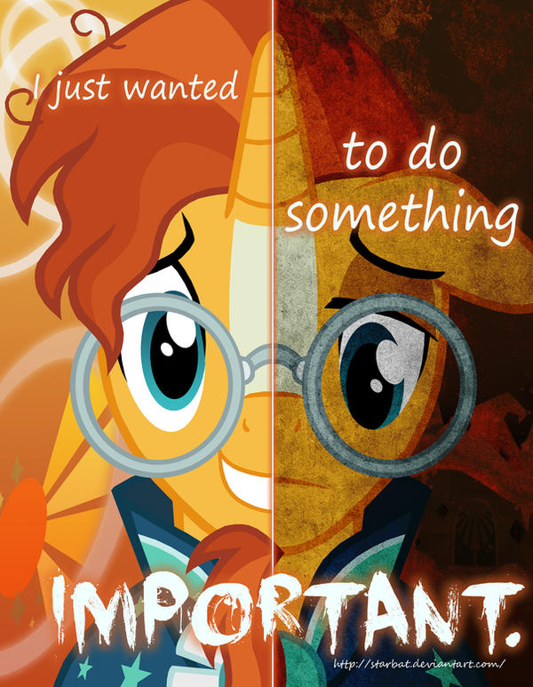 Mlp Two Sides Of Sunburst By Starbat On Deviantart