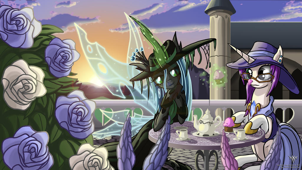 Kyo and Chrysalis COMMISSION by Starbat
