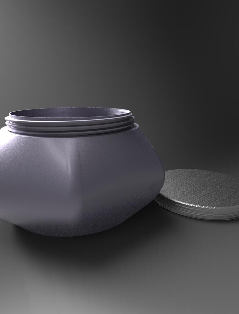Metallic Jar 1 by Free-raccoon-eyes