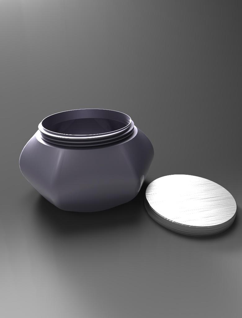 Metallic Jar 2 by Free-raccoon-eyes