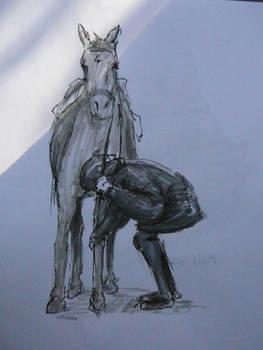 Horse life drawing 2