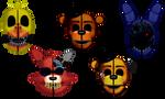Ennard Masks Vague 3 (Withereds)