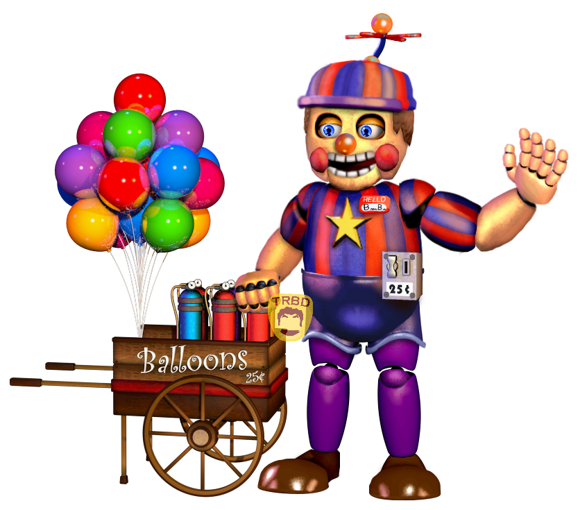 Rockstar Balloon Boy By TheRealBoredDrawer On DeviantArt