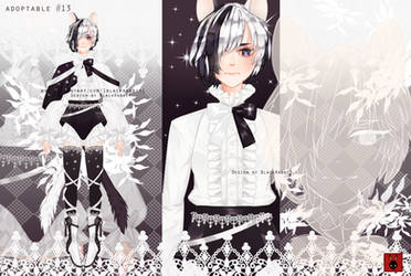 Adoptable Auction 13: OPEN by 1BlackRabbit1