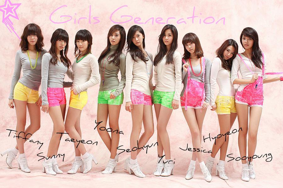 Girls Generation by Jimeske