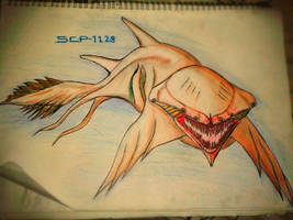 SCP-1128(AQUATIC HORROR) by HollowX4000