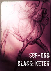 Edited SCP-058 (Heart of darkness)