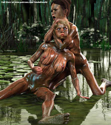 Swamp Fight - Full Story 31 HQ Renders by MichelleWalterModel