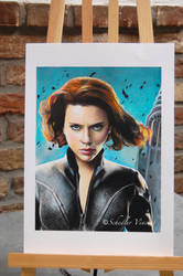 SCARLETT JOHANSSON -  BLACK WIDOW  - Completed . by Cap007