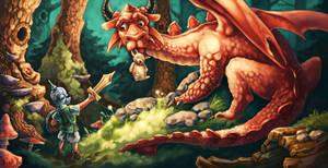 The Borrower Dragon by JoshTufts