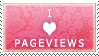 I Love Pageviews by JLWilliamson